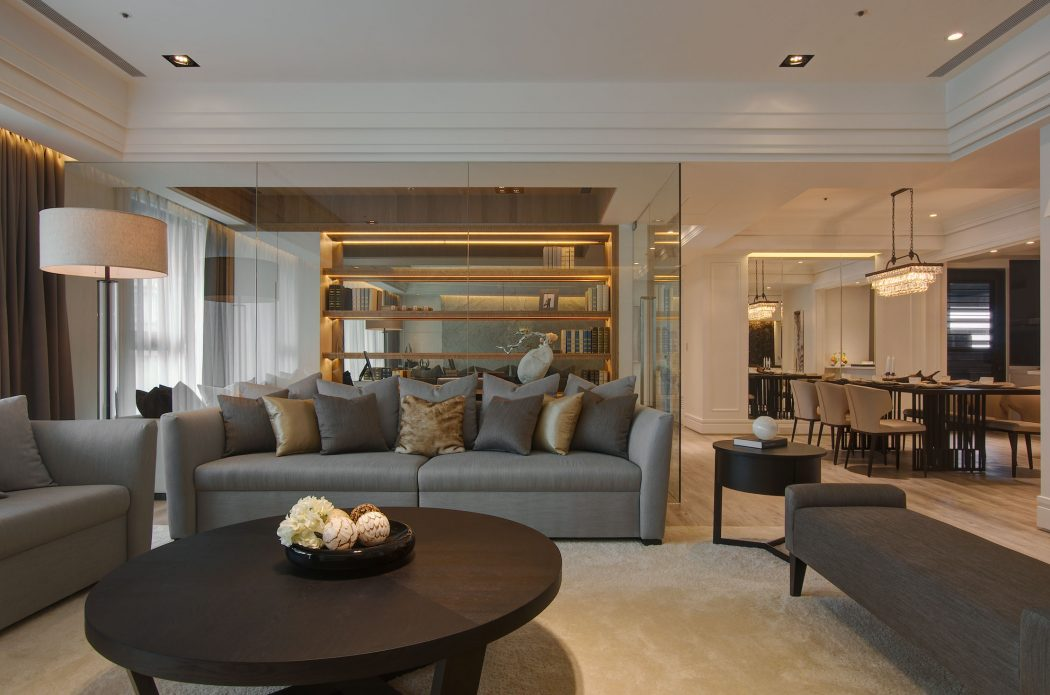 Elegant Apartment By J C Interior Design