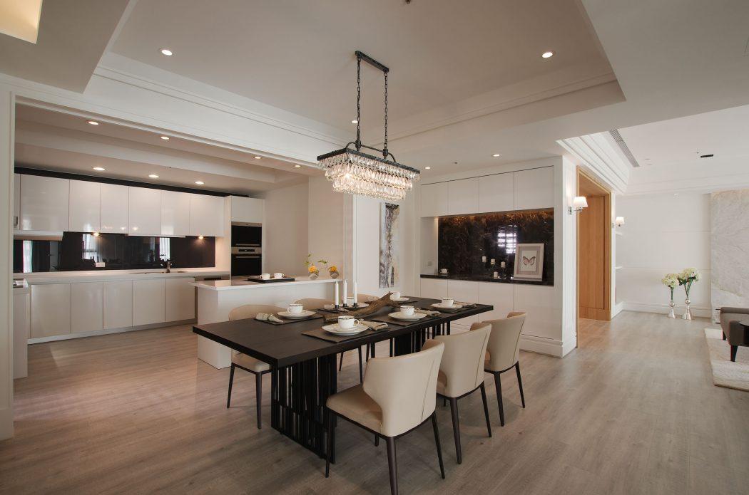Elegant Apartment elegant apartmentj+c interior design | homeadore