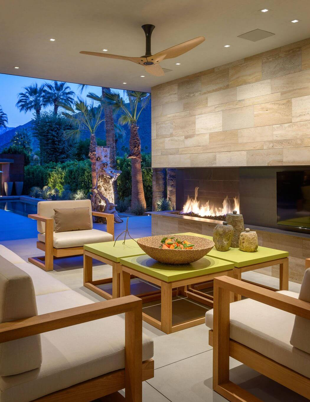 Palm Springs Retreat by Carr Designs Palm