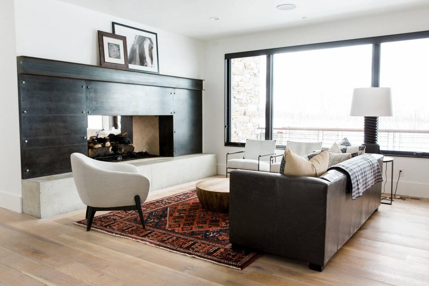 Modern Mountain Home By Studio McGee