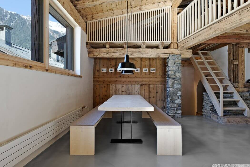 Vacation House in Chamonix by Florian Technau