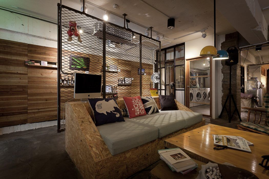 Laundry & Coffee Shop by Formo Design Studio   HomeAdore