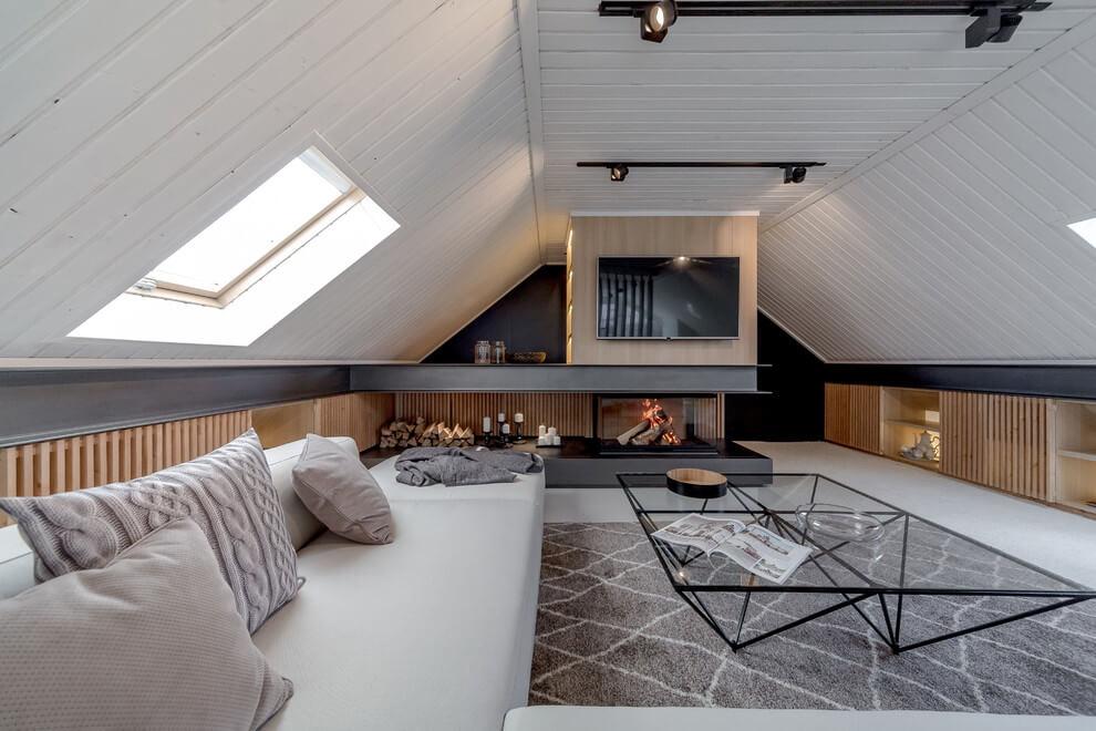 Attic Apartment by Lofting
