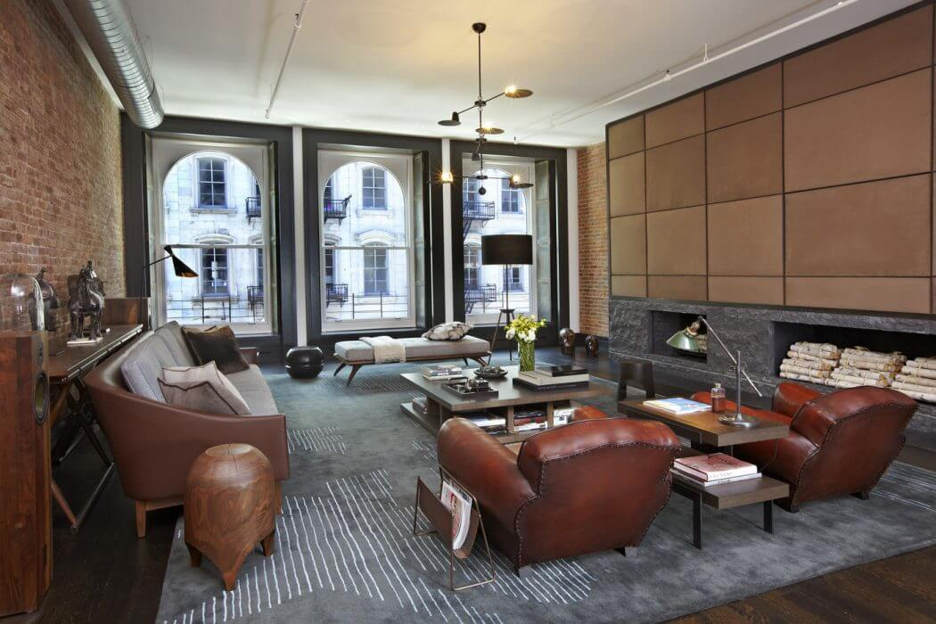 Tribeca Loft by Scarpidis Design Tribeca Loft