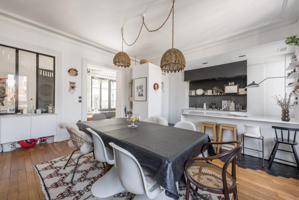Apartment in Lyon by Alexandra Tamburini « HomeAdore