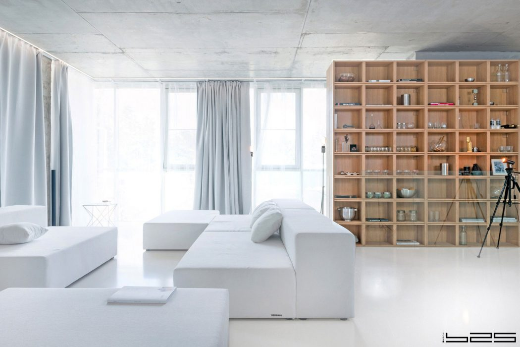 Minimalist Apartment by ARCH.625