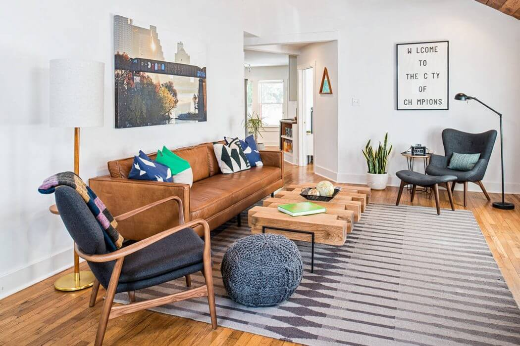 Bachelor Pad by Christen Ales Interior Design