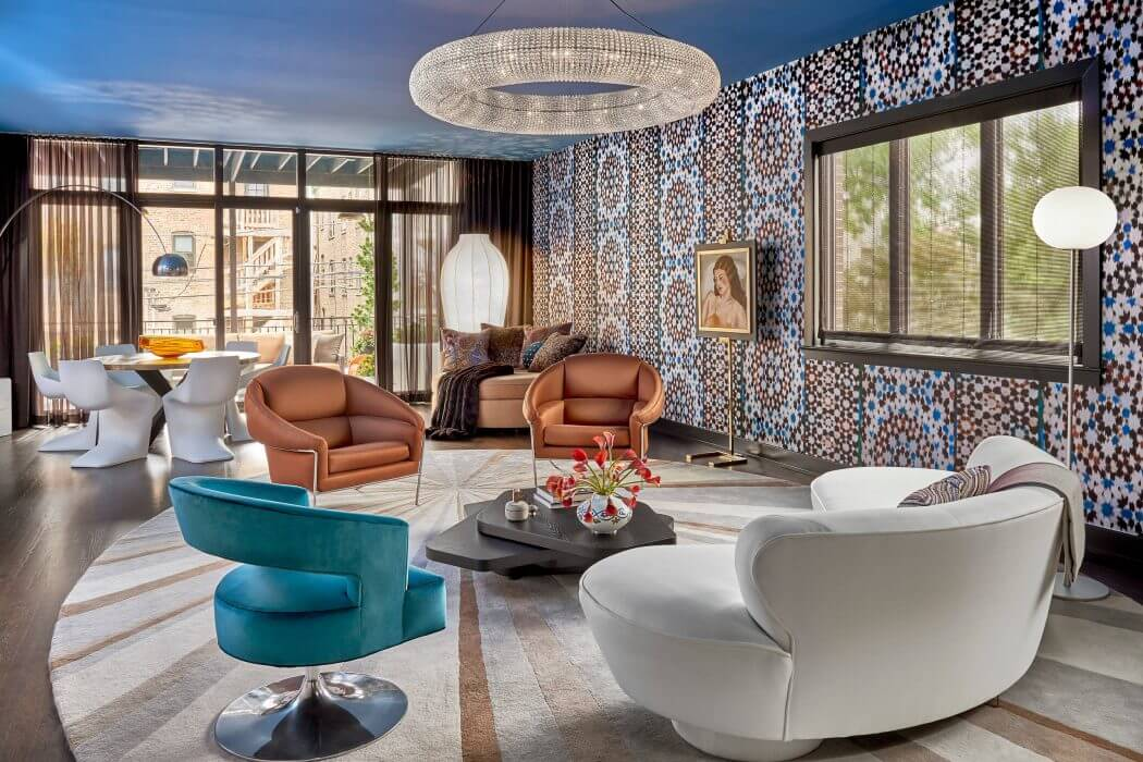 Home in Chicago by Mitchell Channon Design
