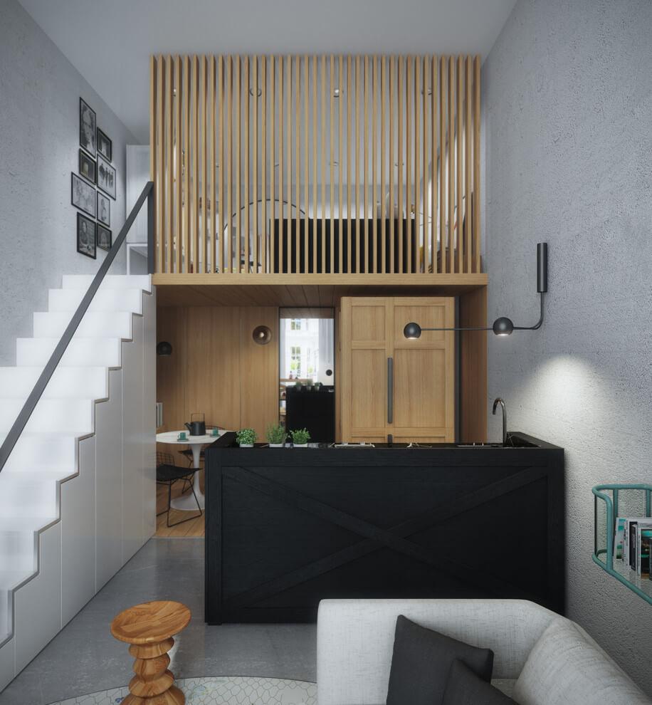 Mezzanine in Notting Hill by Art Buro   HomeAdore