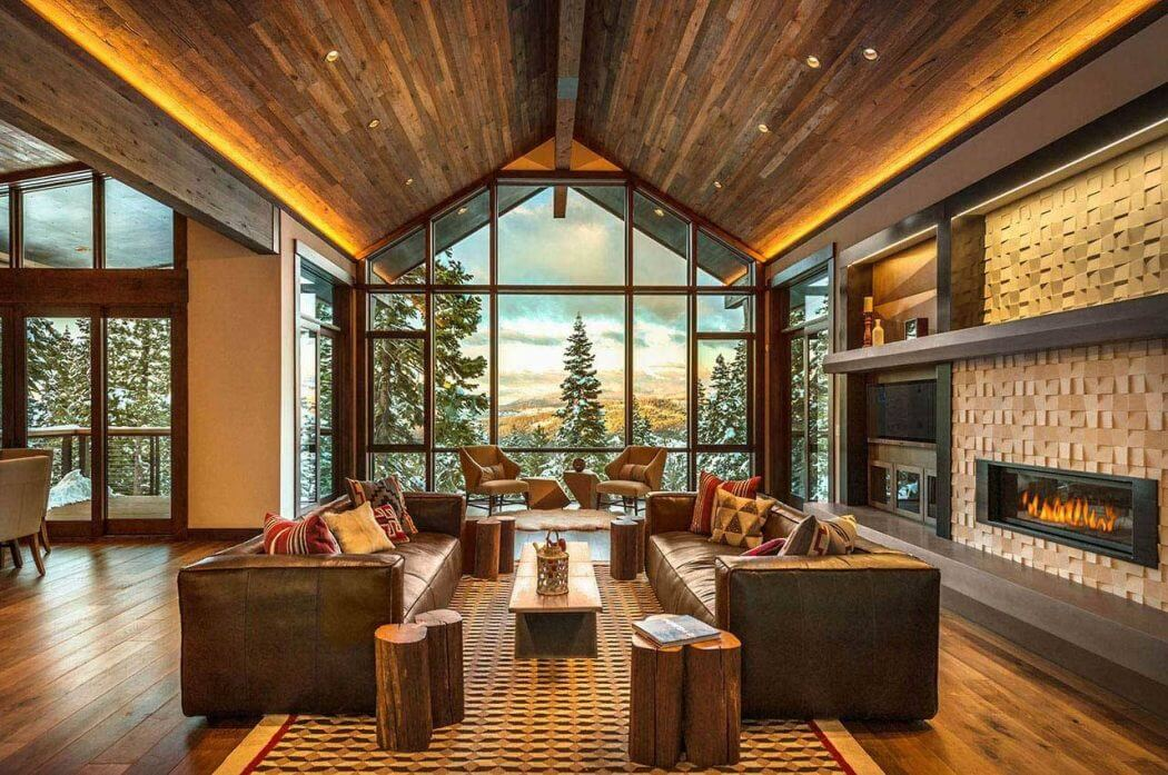 Ski lodge by aspen leaf interiors homeadore for In design interiors