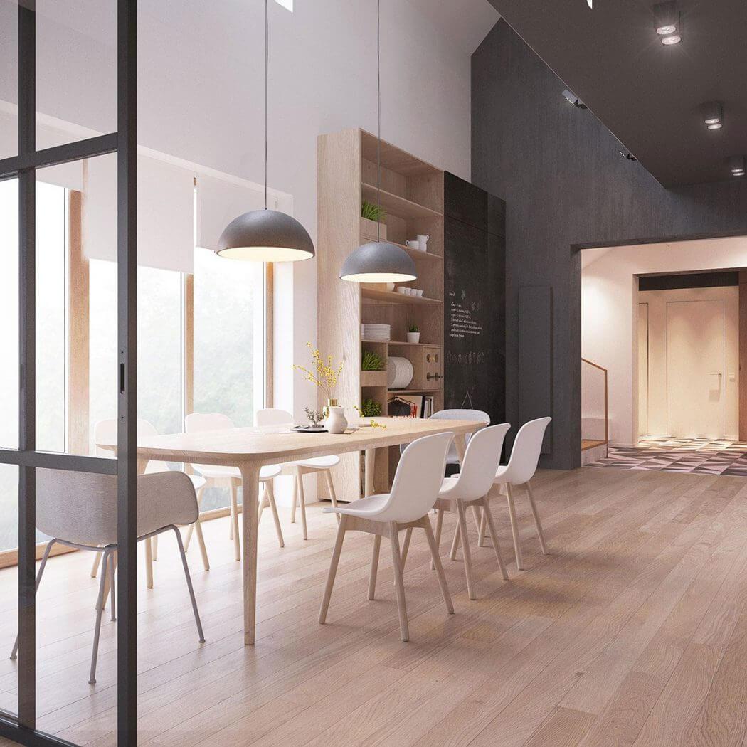 Modern Scandinavian Modern Scandinavianzrobym Architects  Homeadore