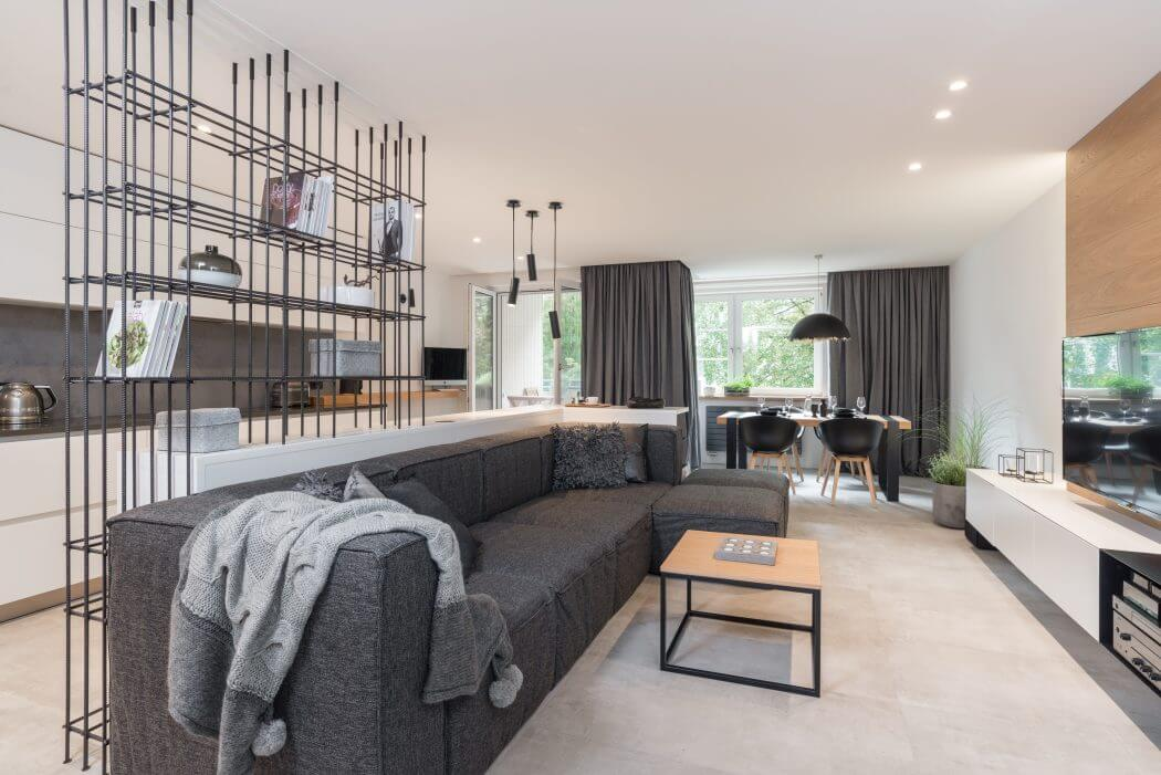 Grey Wood Apartment By Oooox
