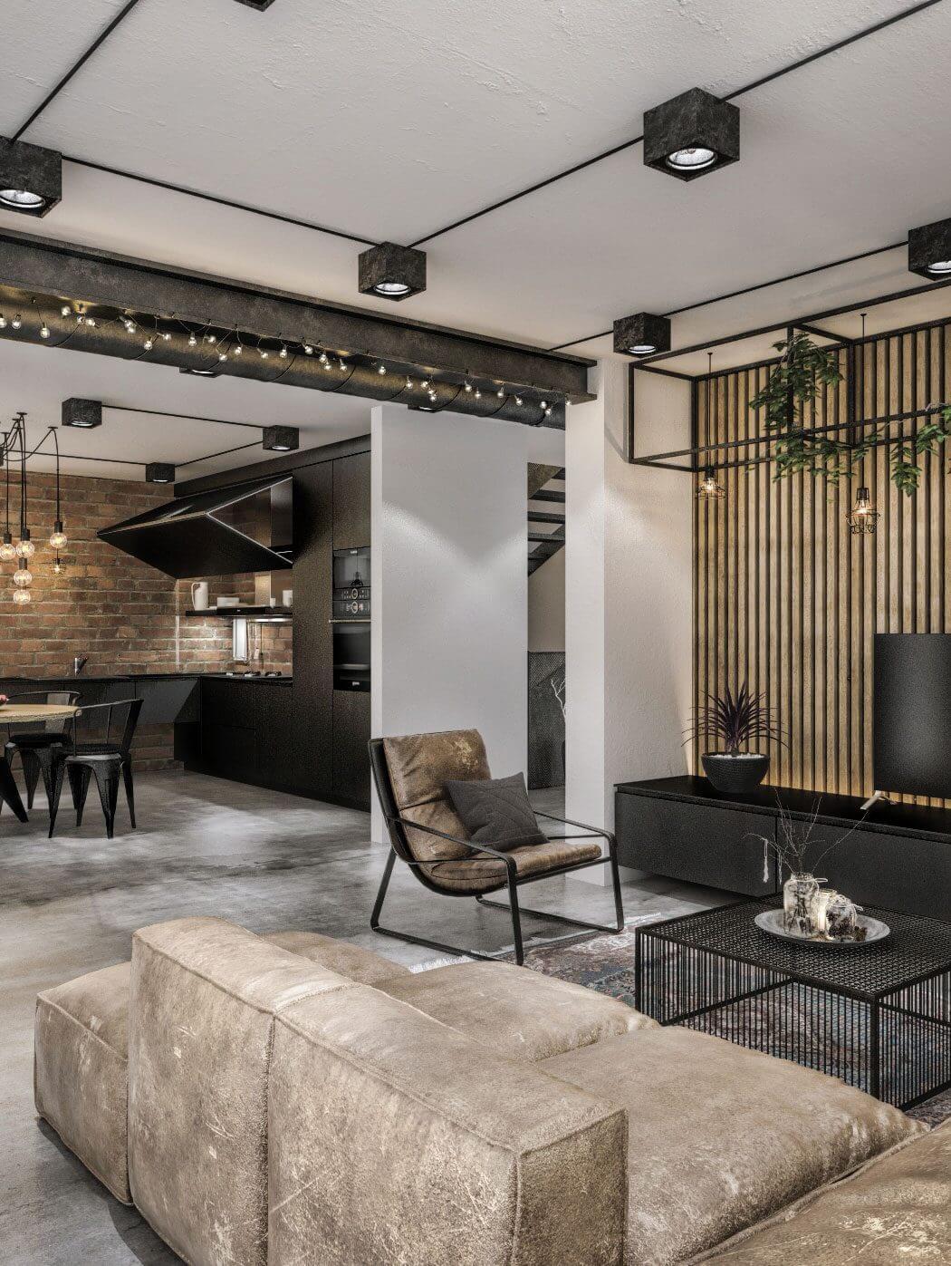 Modern Loft in Kaunas by Idwhite « HomeAdore