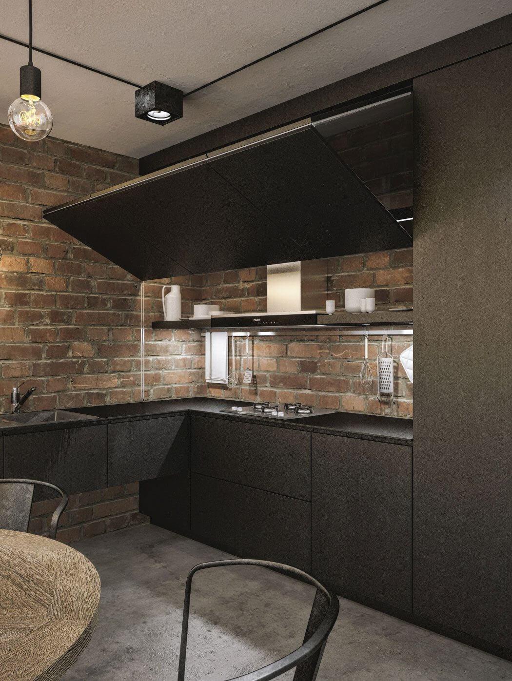 modern loft in kaunasidwhite | homeadore