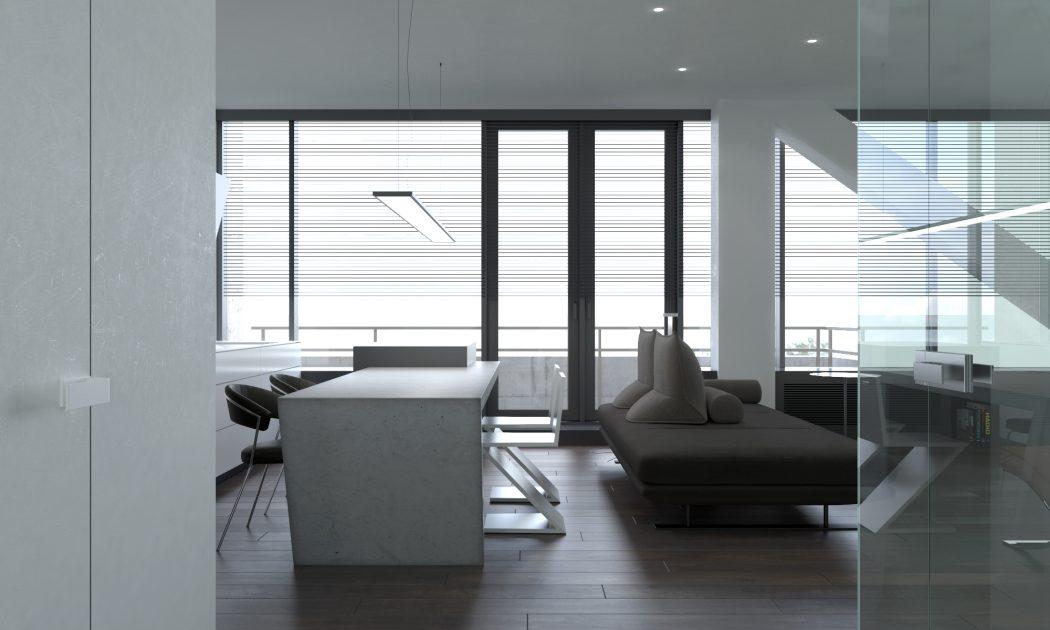 Studio Apartment Architecture wonderful studio apartment architecture in bucharest throughout