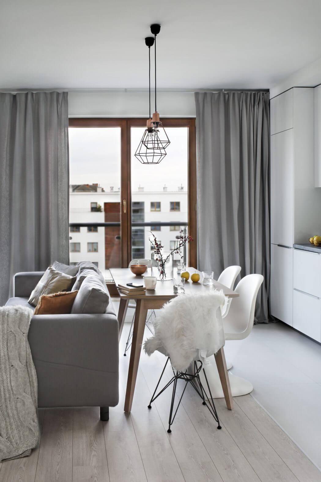 Scandinavian apartment by Agnieszka Kara