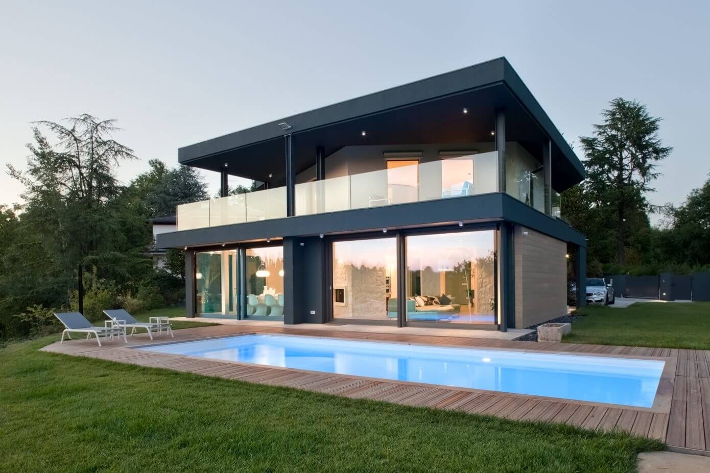 013 villa udine iarchitects homeadore for Belle case moderne