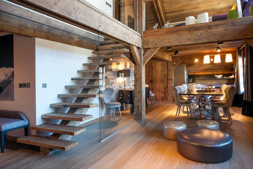 Duplex in Megeve by Refuge