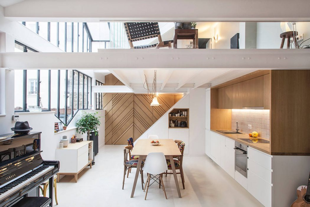 Loft in Paris by Batiik Studio