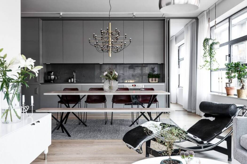 Apartment in Stockholm by HusmanHagberg