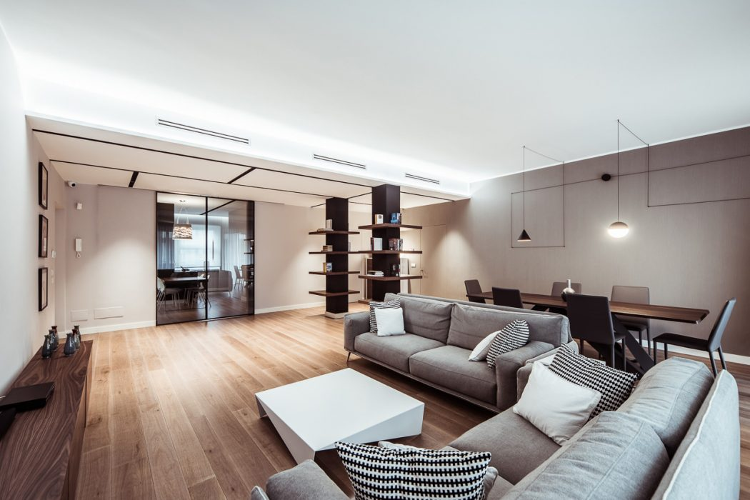 Apartment in Turin by Italia And Partners