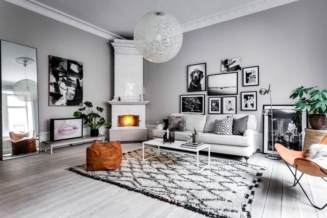 Roslagsgatan Apartment by Alexander White