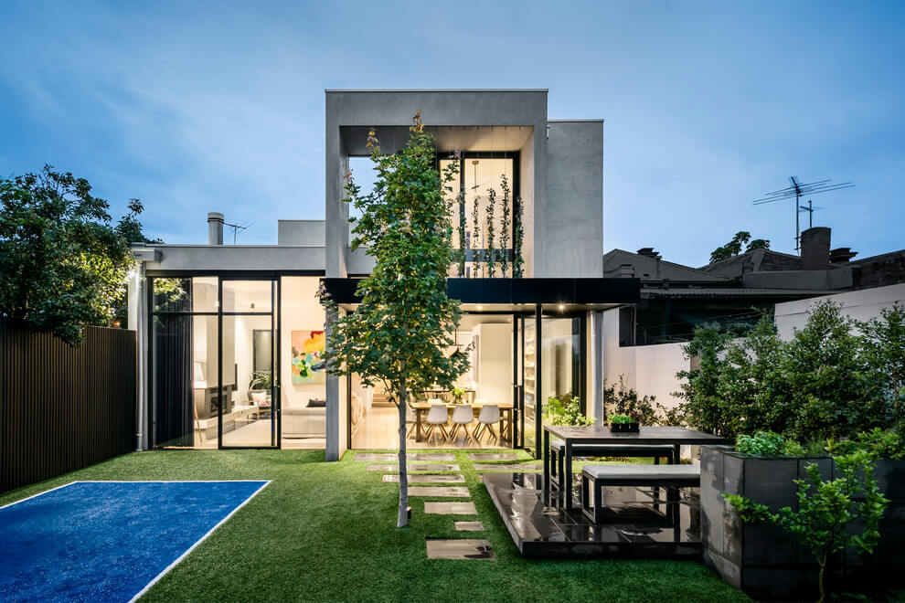 House in Albert Park Village by Kirsty Ristevski | HomeAdore