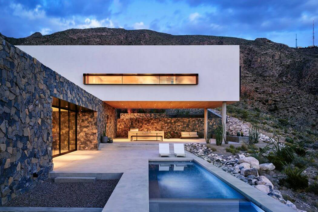 Franklin Mountain House by Hazelbaker Rush