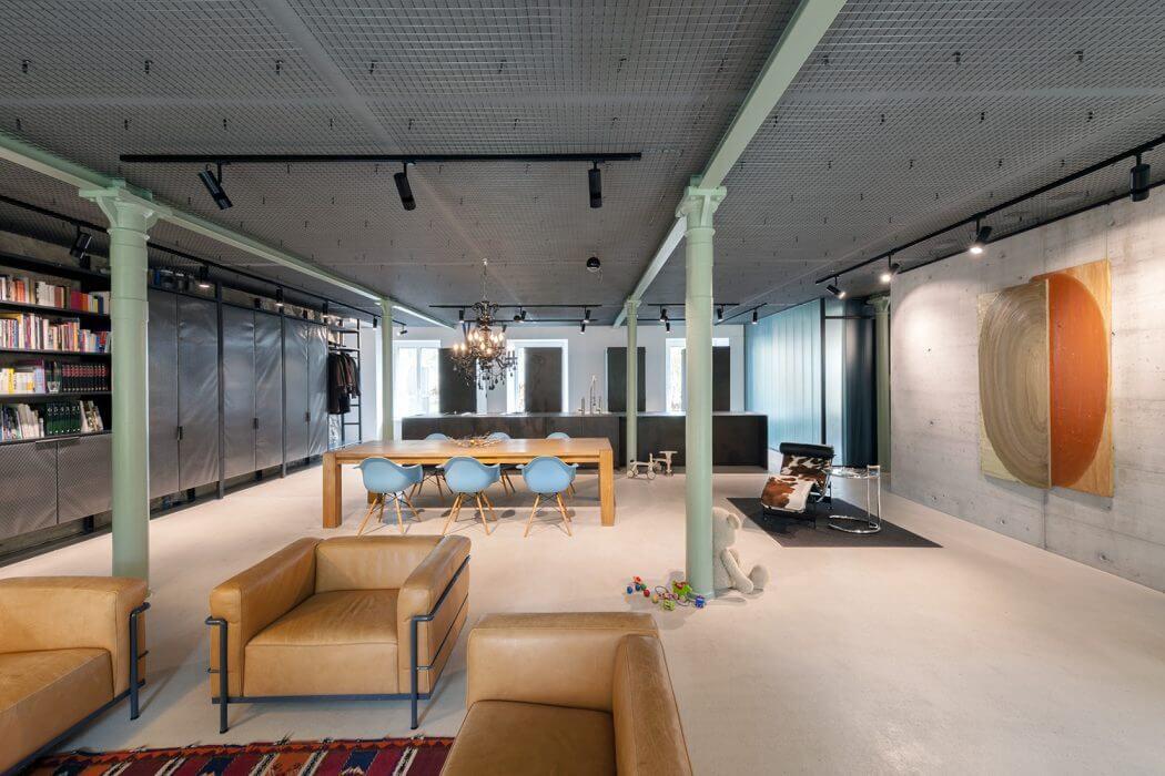 Loft Architektur loft in zurich by arcs architekten homeadore