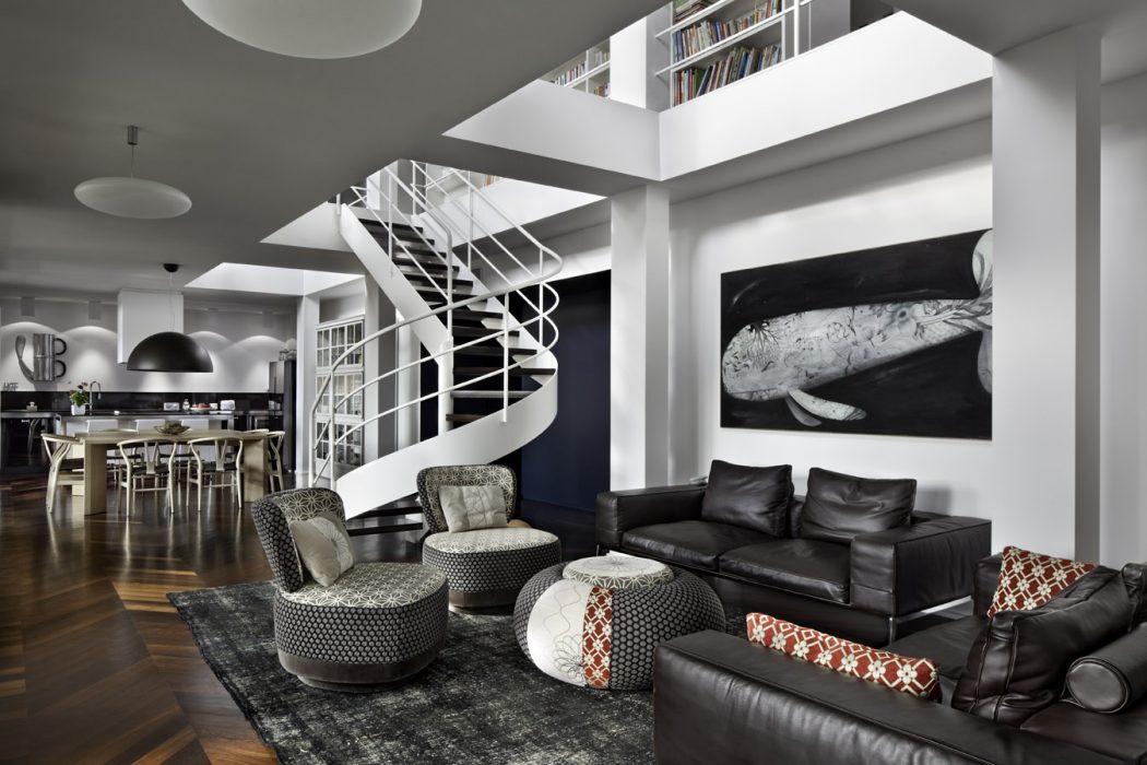 Apartment in San Vittore Olona by Silvio Maglione