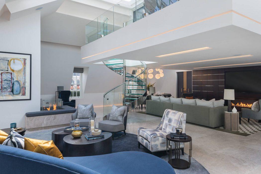 Duplex Penthouse Design Decoration