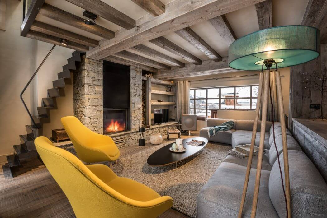Chalet design by amdeco architecture d 39 int rieur homeadore for Design interieur
