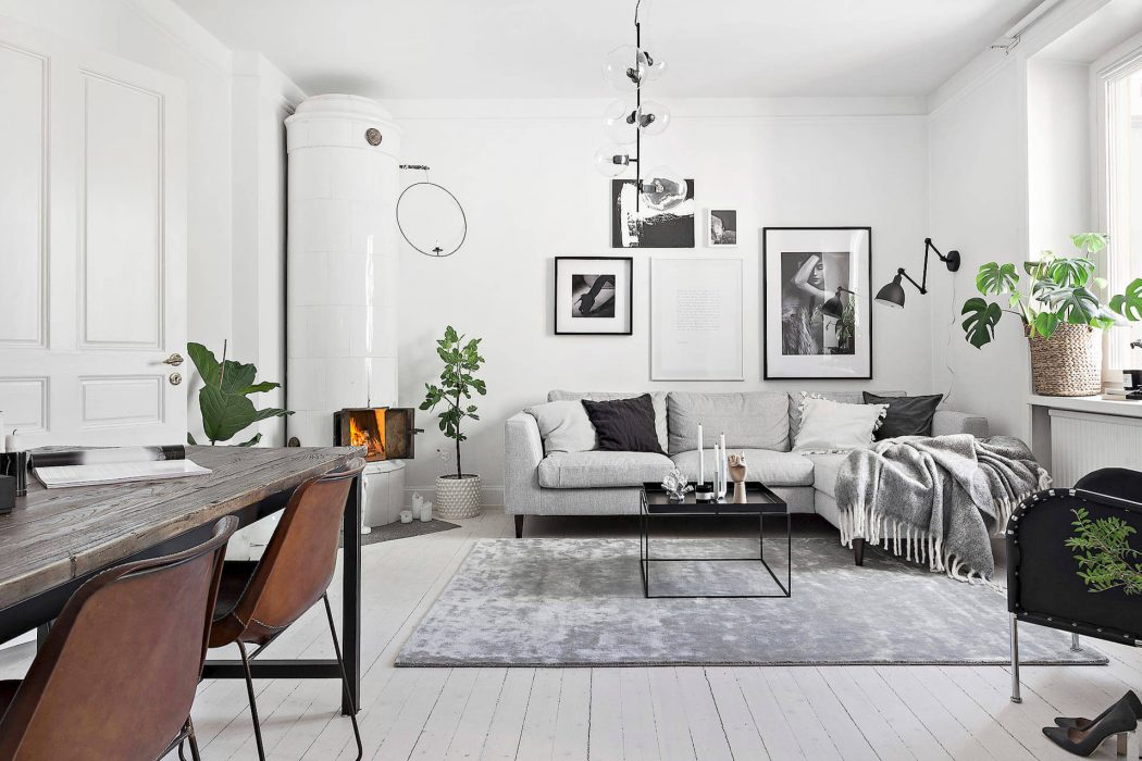 Apartment in Stockholm by Deco STHLM