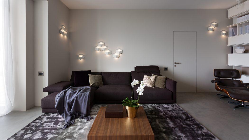 Minimalist Apartment by AzovskiyPahomova Architects HomeAdore