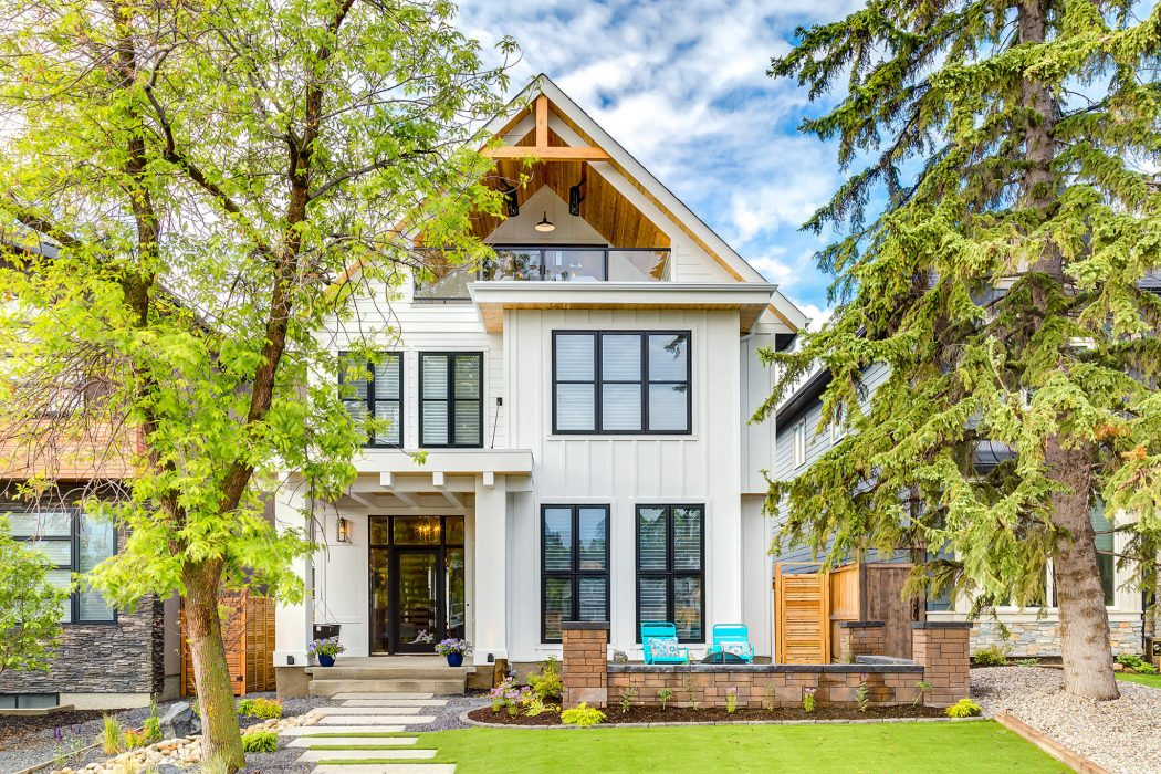 Modern Farmhouse By Trickle Creek Designer Homes
