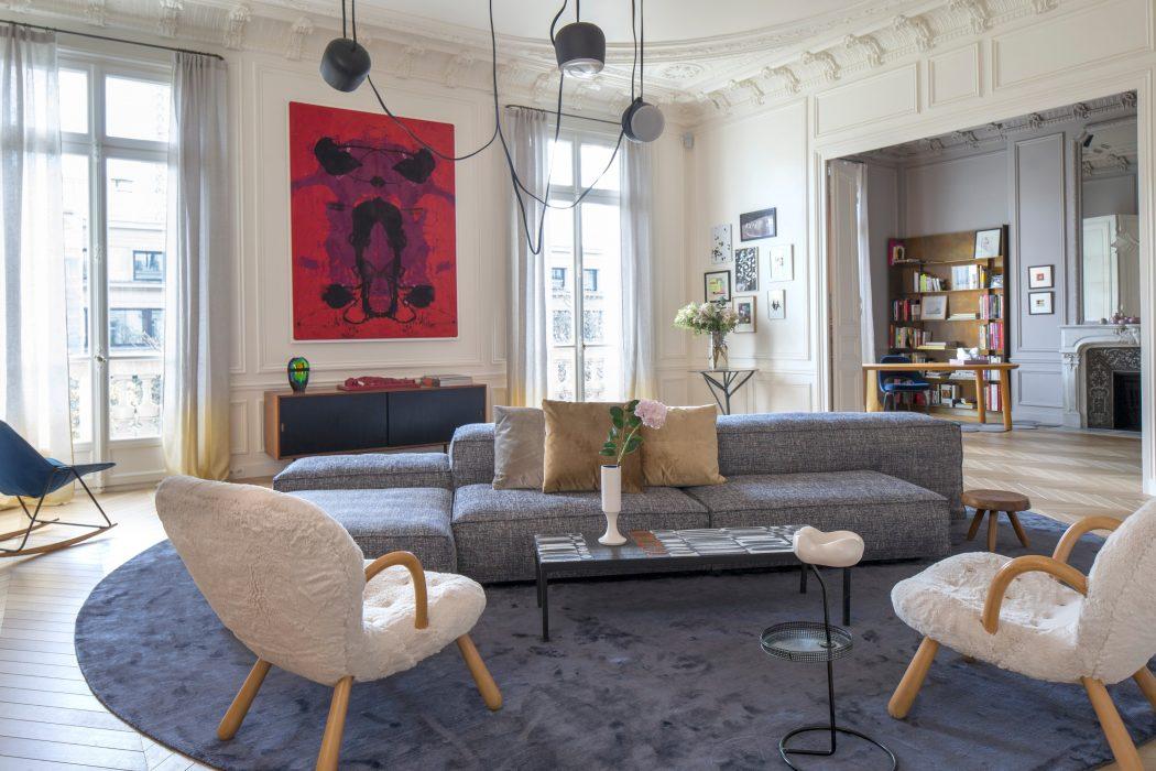 Apartement Trocadéro by Rodolphe Parente