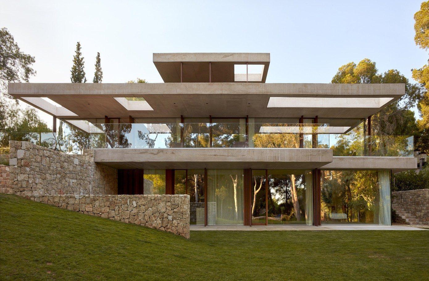 021 house madrid ramn esteve estudio w1390 homeadore - Villa de luxe minorque esteve estudio ...