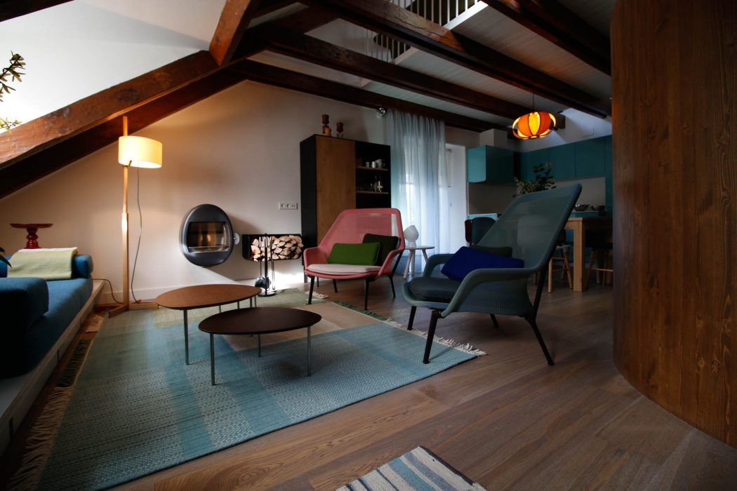 Duplex Penthouse by Estudio Pedro Feduchi