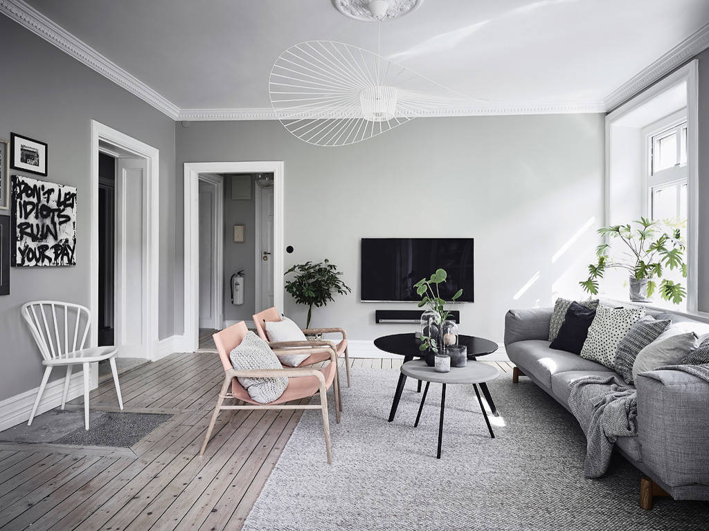 015 apartment gothenburg 2 homeadore - Salon gris clair ...