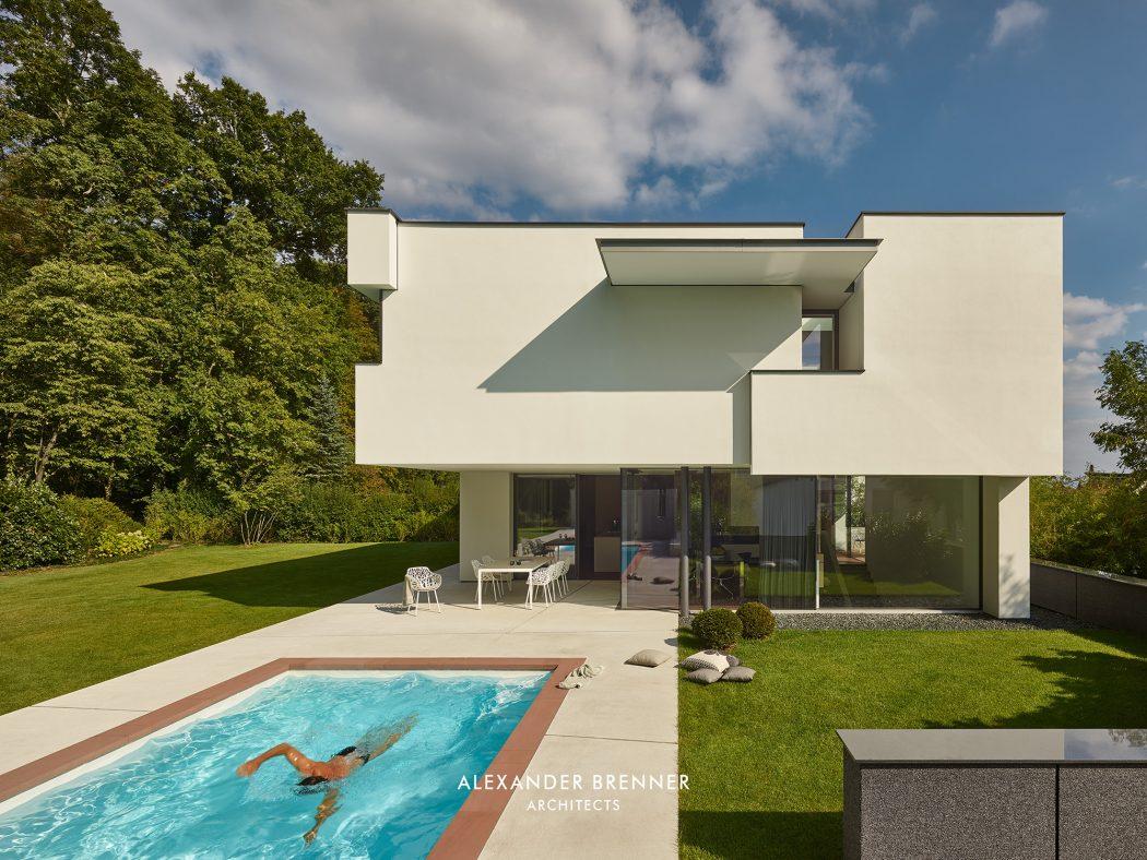 Architects Stuttgart house in stuttgart by brenner architects homeadore