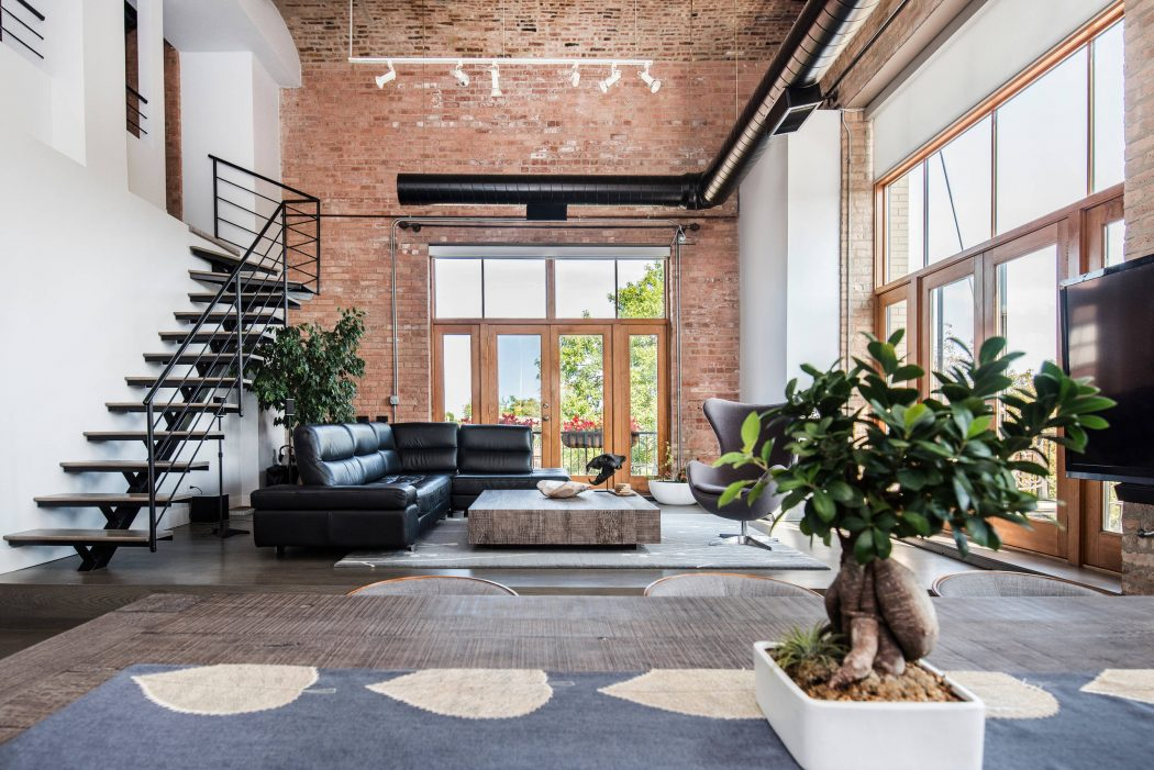 Chicago Loft by KC Architects HomeAdore