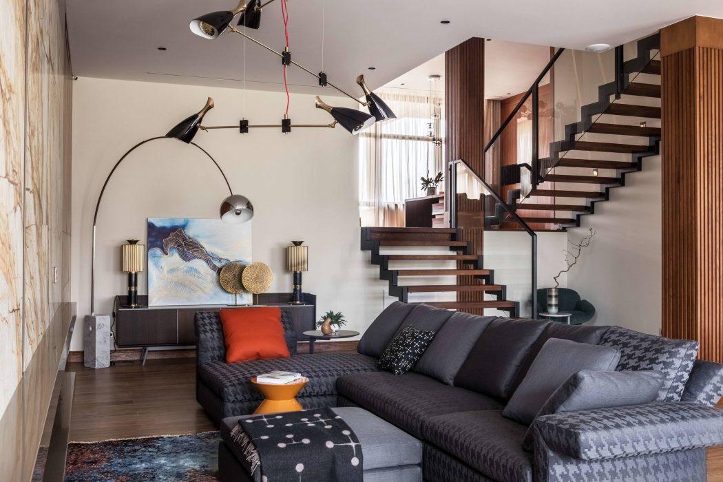 Contemporary House by White & Black Design Studio « HomeAdore