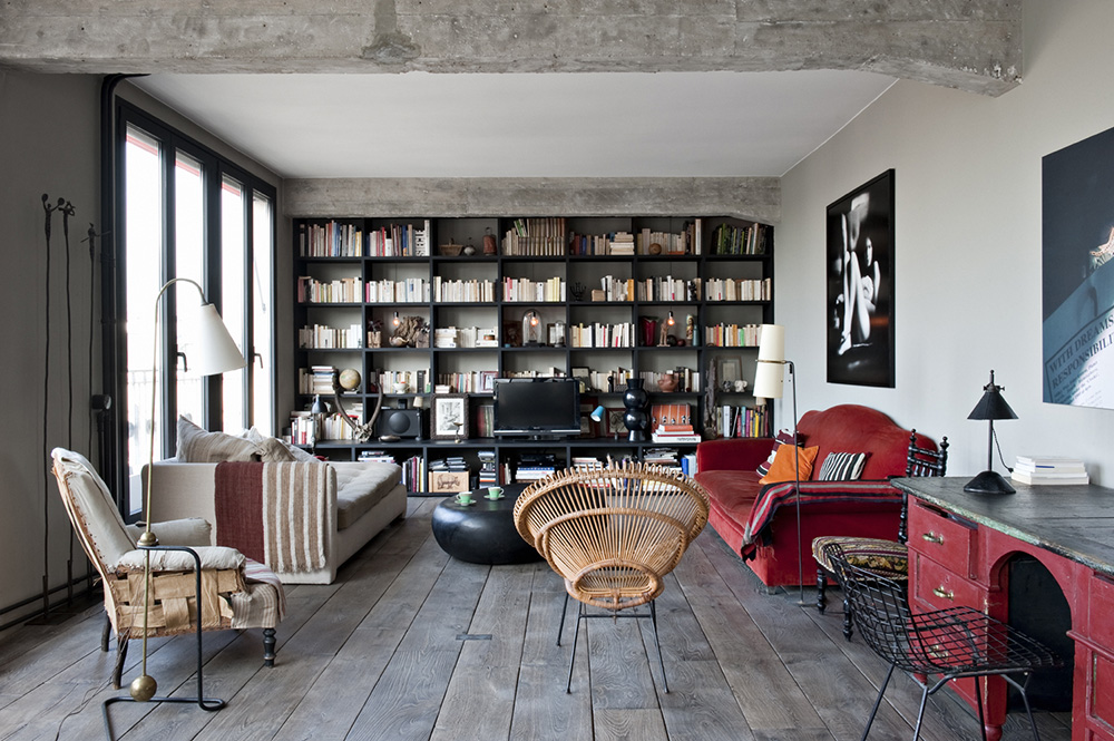 Chabrol Apartment by Atelier Barda