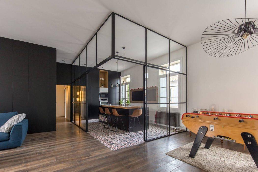 apartment sbl by brengues le pavec homeadore. Black Bedroom Furniture Sets. Home Design Ideas