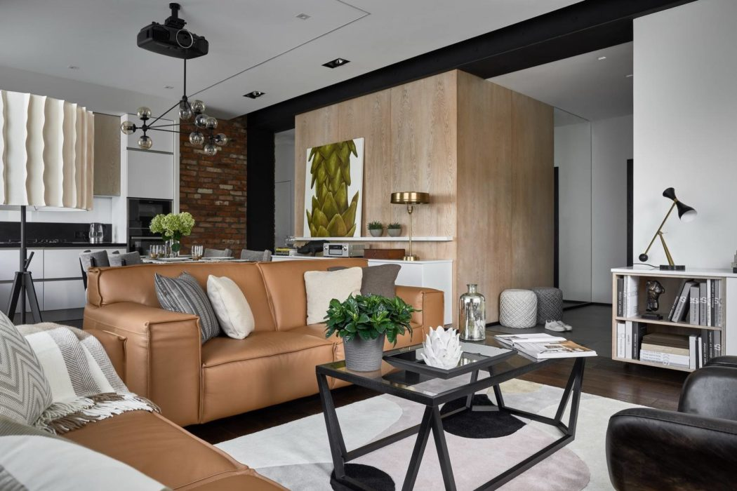 Apartment in Moscow by Make Interiors