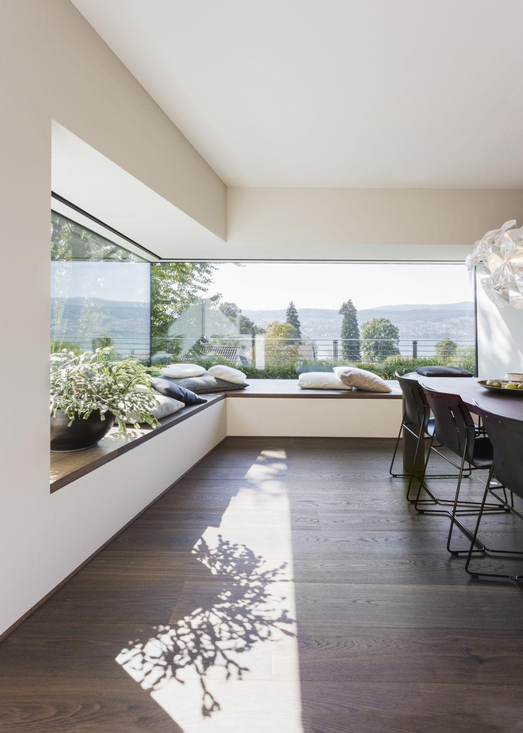 House in zurich by meier architekten homeadore for Modern house zurich