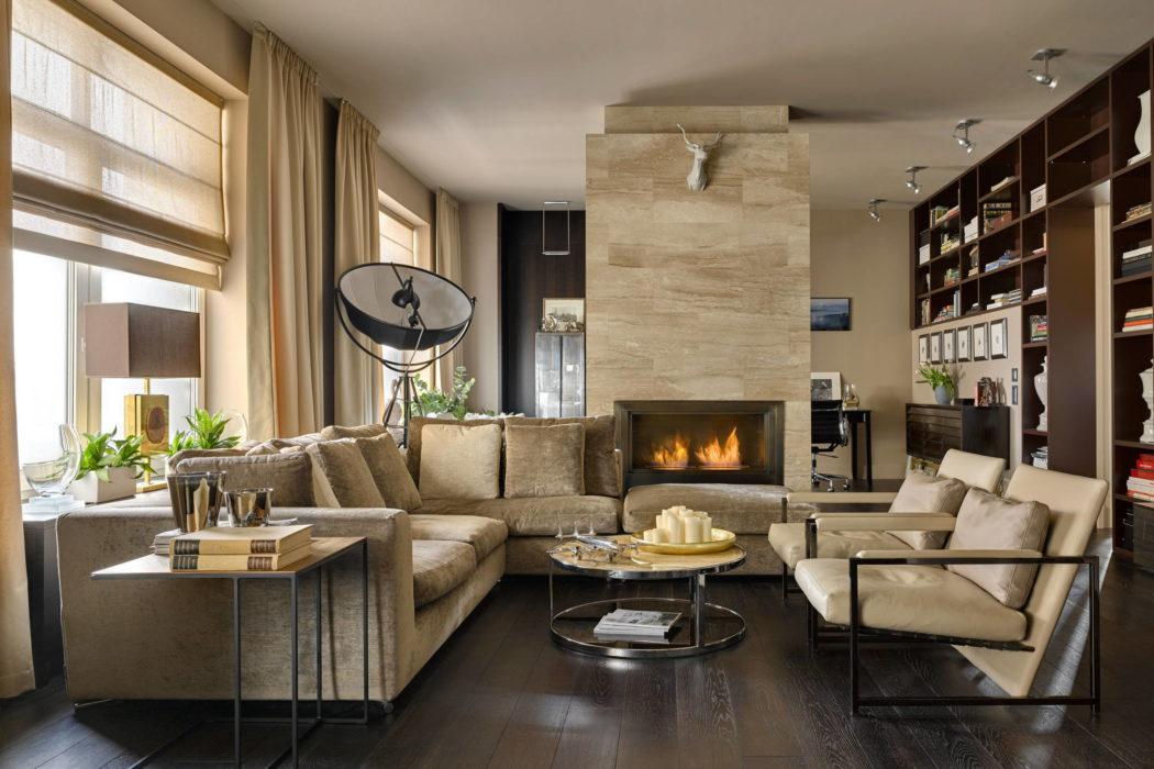 Apartment in St Petersburg by Maxim Rymar