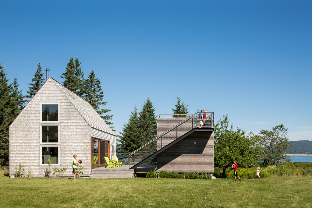 Cranberry Isles House by Elliott + Elliott Architecture
