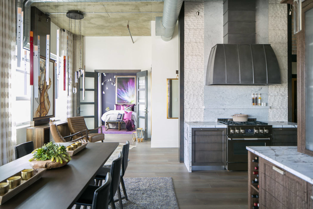 Denver Loft Style Living by Robeson Design « HomeAdore