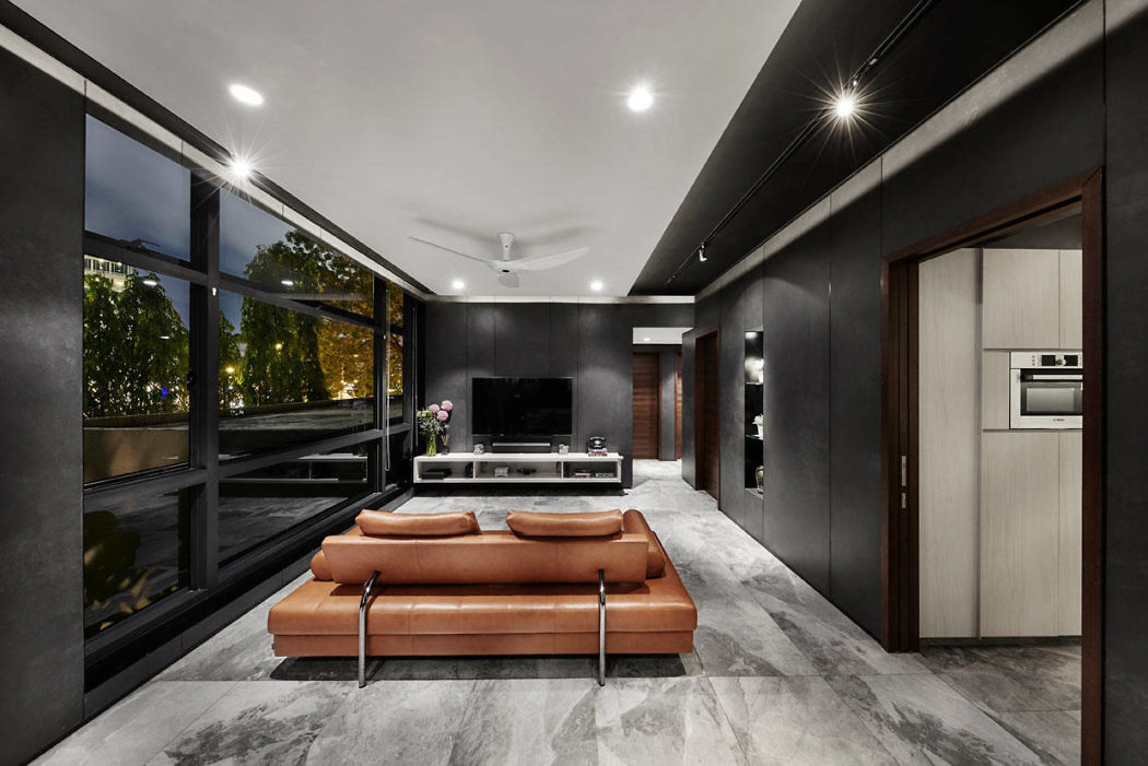 Apartment in Singapore by akiHAUS Design Studio | HomeAdore